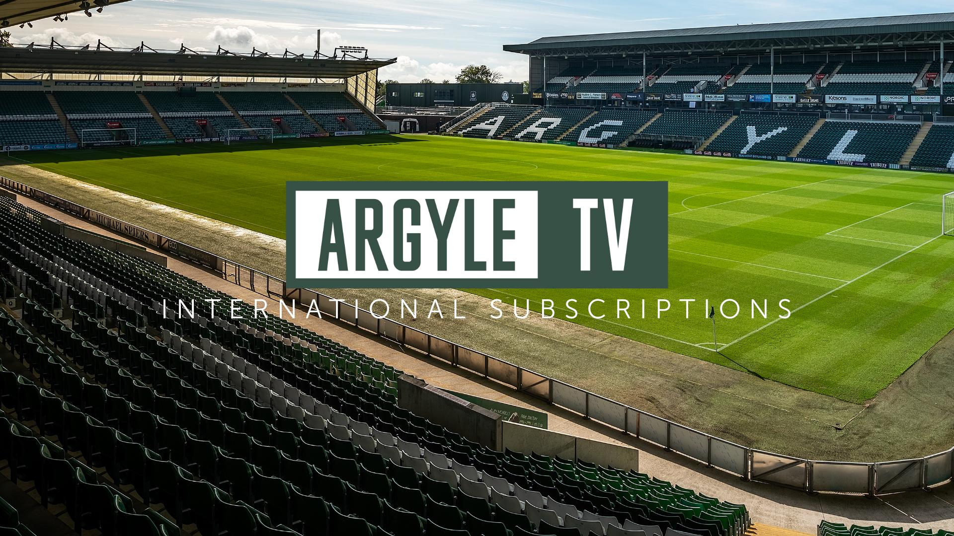 ARGYLE TV INTERNATIONAL