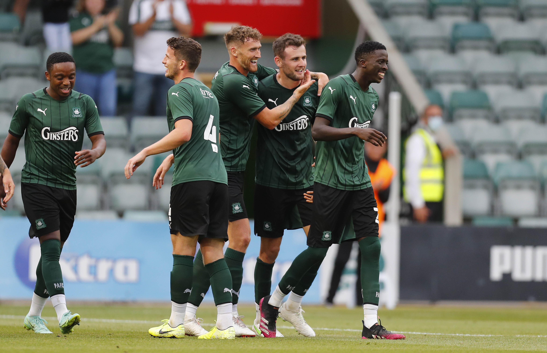 Gillesphey celebrates goal