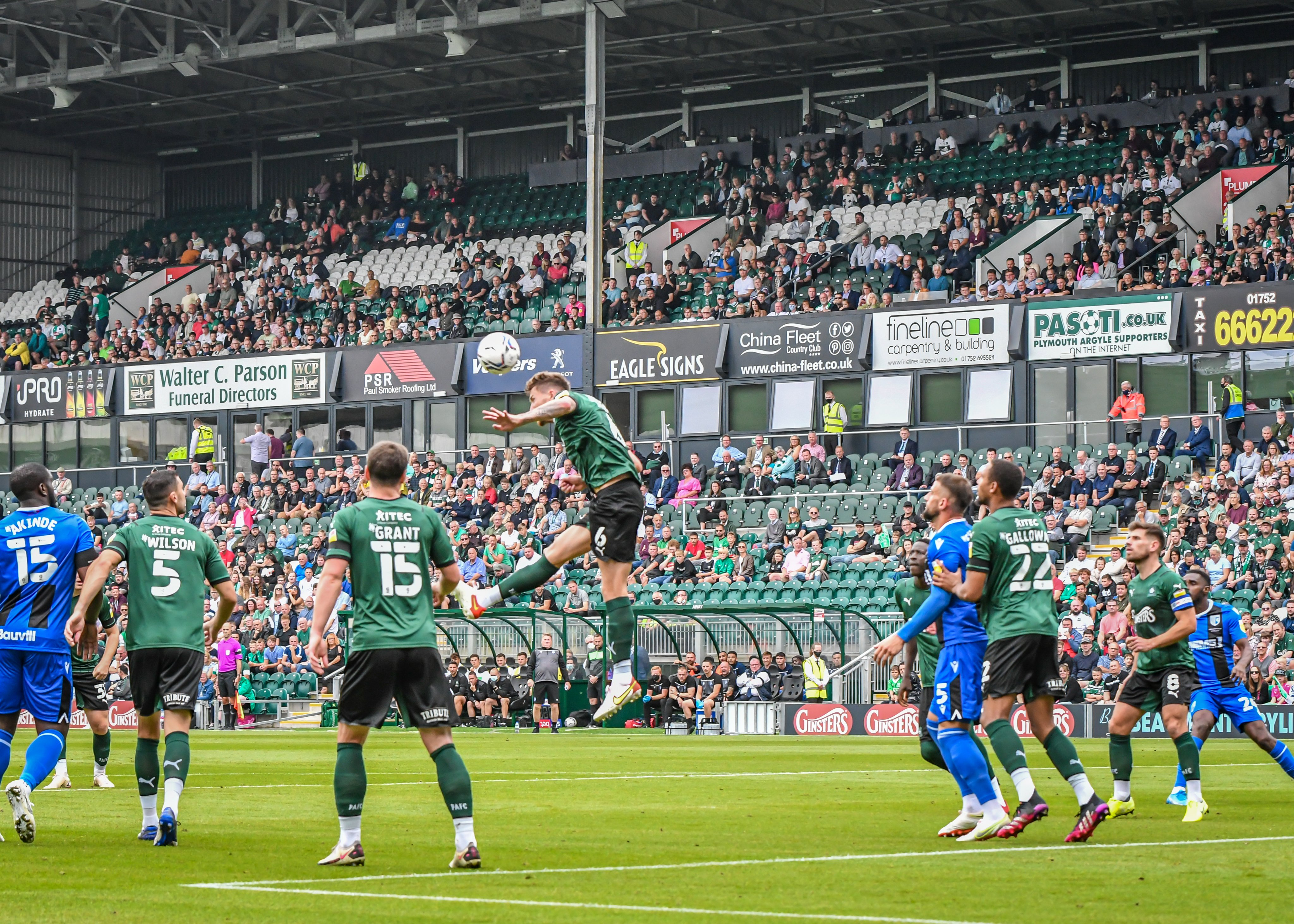 Argyle clear in victory over Gillingham