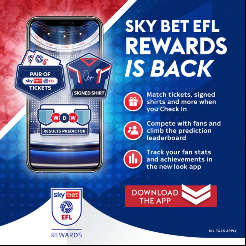 Sky Bet EFL Rewards