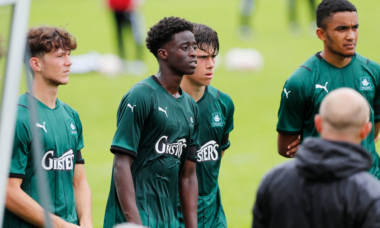 under-18s against Arsenal