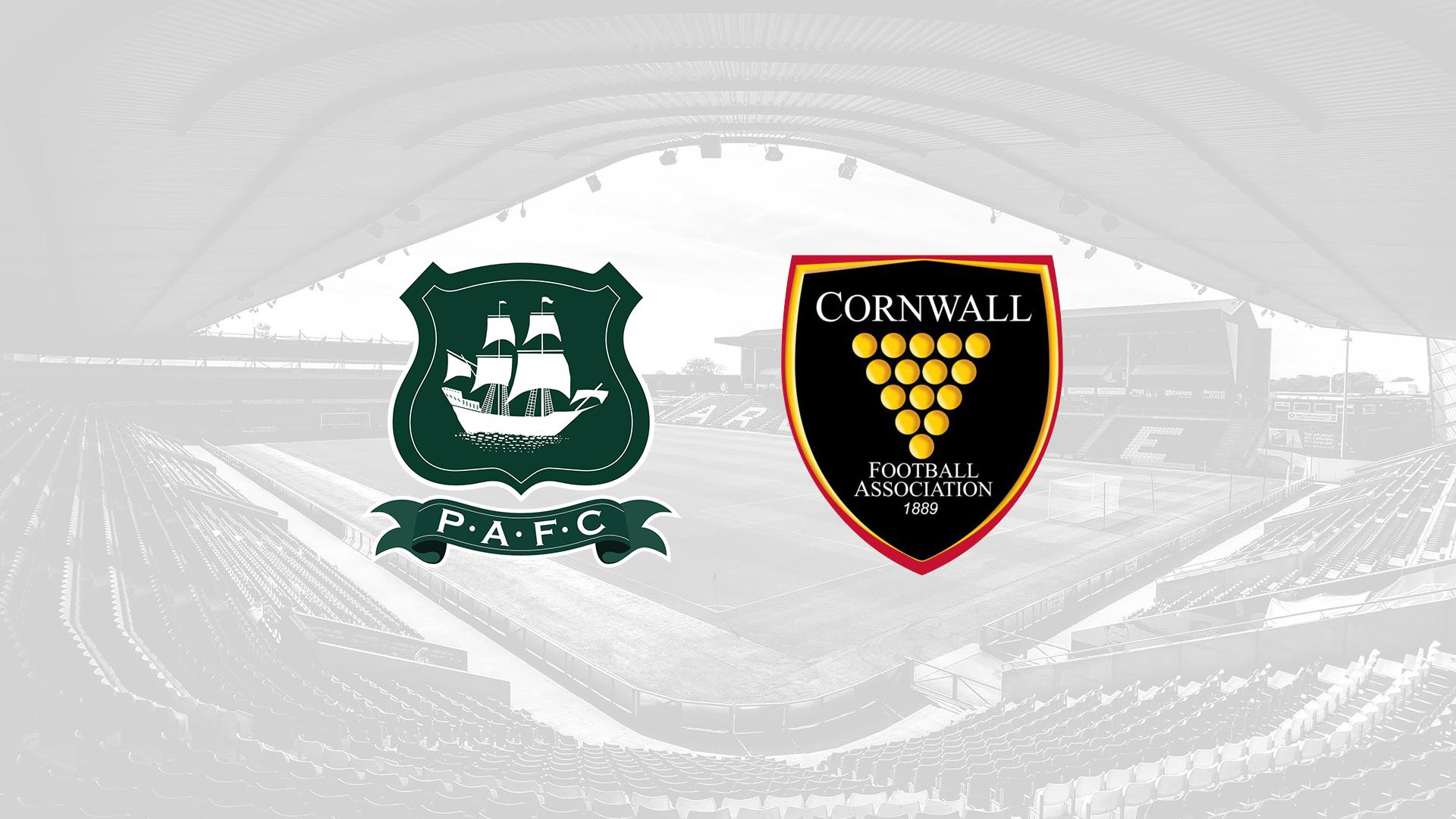 Plymouth Argyle and Cornwall FA partnership
