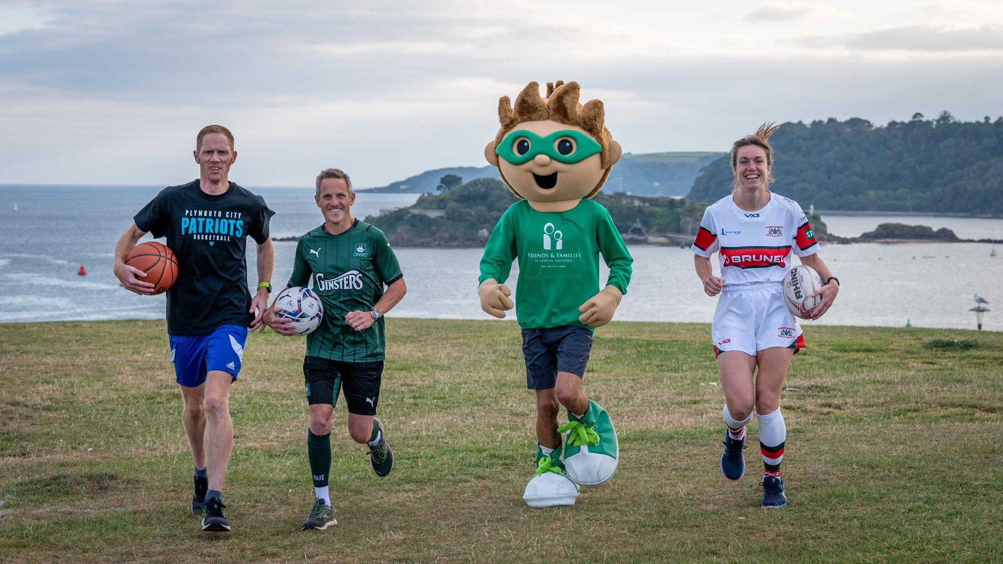 Gavin Priest tackles Marathon for Children's Charity