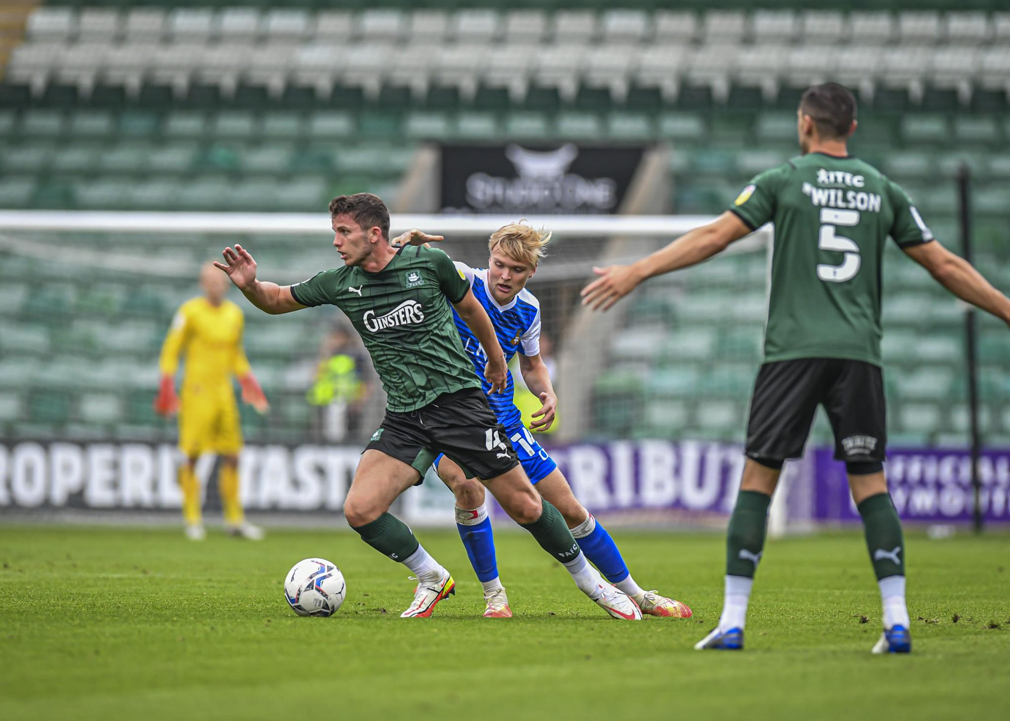 Jordan Houghton pulling the strings against Doncaster