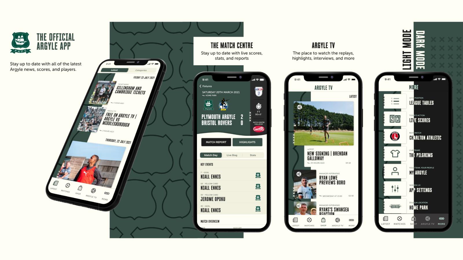 Plymouth Argyle official app