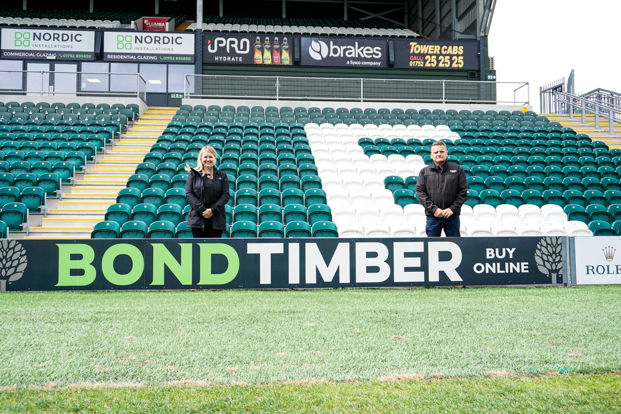 Bond Timber at Home Park Stadium