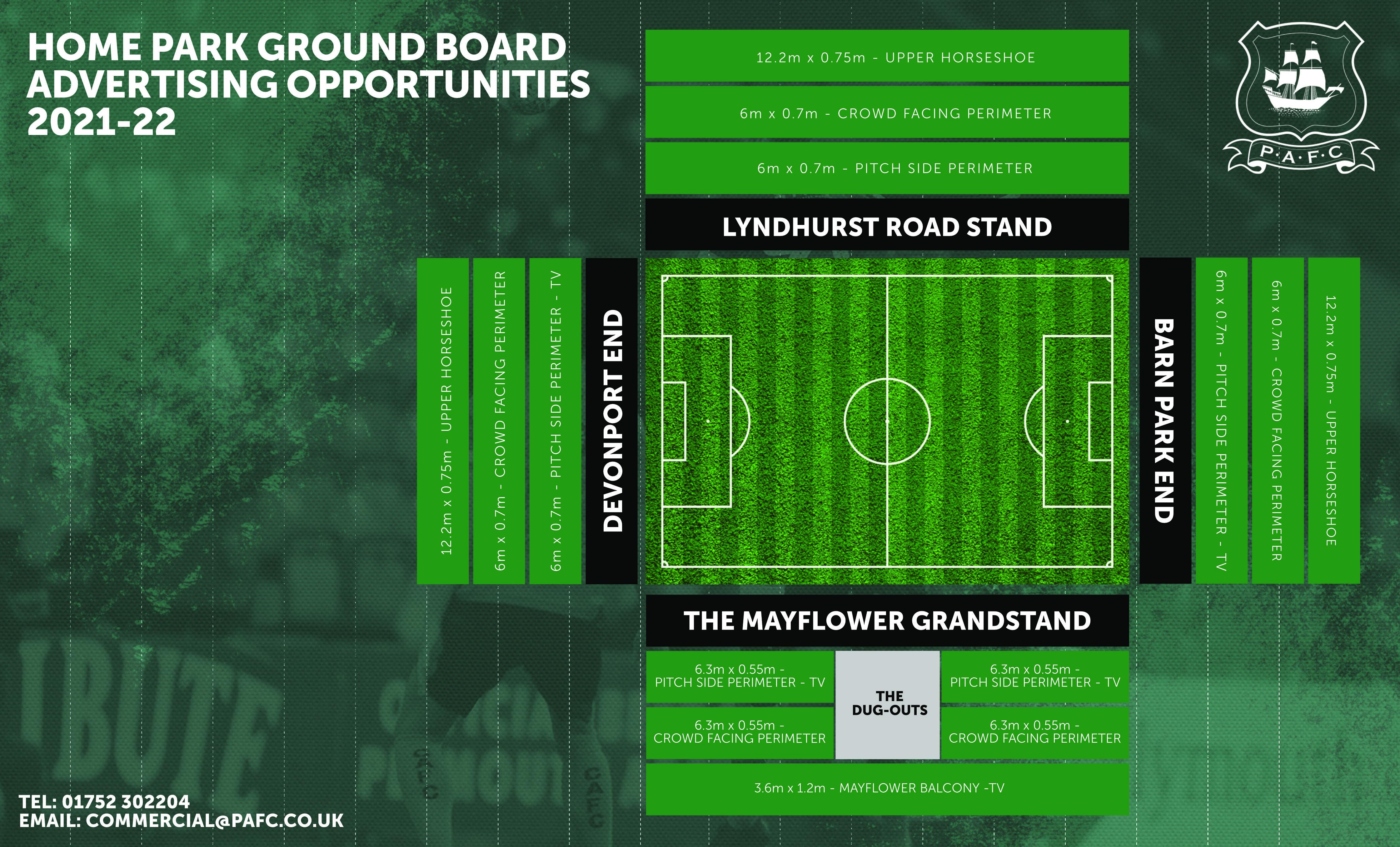 Ground Board Advertising Plan